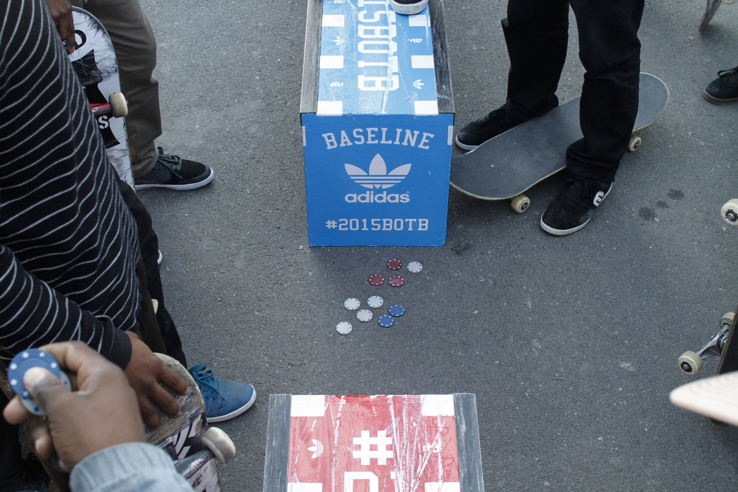 adidas BOTB 2015 Chips on the ground