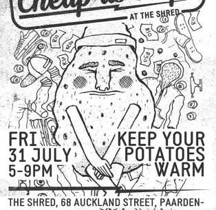 Cheap As Chips – The Shred