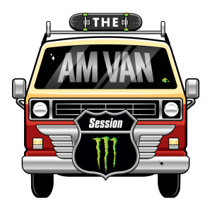 THE AM VAN - Logo